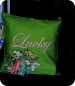 30-minute Textured Embellishment Pillow