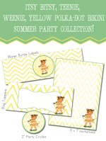 """Summer Social"" Guest Project — Free {Chevron} Summer Party Printables!!"