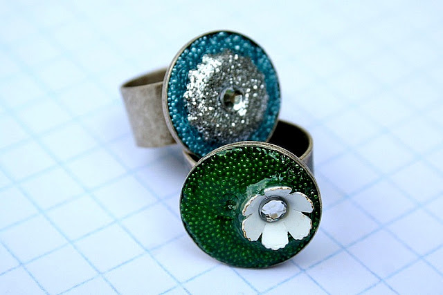 """Summer Social"" Guest Project — Make Embellished Resin Rings!!"