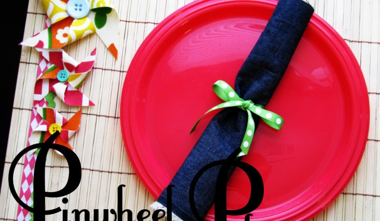 """Summer Social"" Guest Project — Make Pinwheel Placemats!!"
