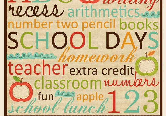 Great Ideas — Back to School {1}