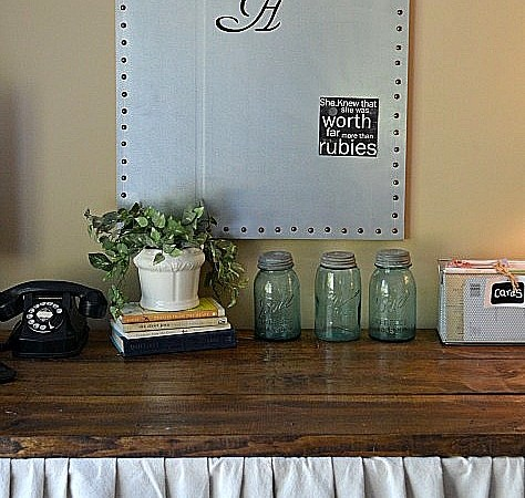 """""""Summer Social"""" Guest Project — Make a DIY Magnet Board {perfect for back to school}!!"""