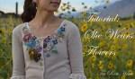 Clothing Refashion — Embellished Flowered Cardigan {tutorial}