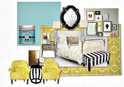 The Good Mood Board {Master Bedroom Edition}