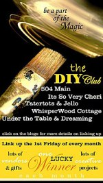 Some Exciting News!! The DIY CLub — Let the Magic Begin! Update!