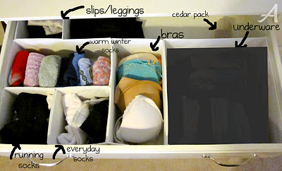 Getting Organized — How to Organize Your Closet & Dresser!!