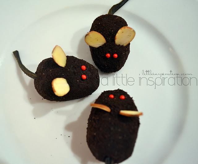 New Years Eve Party Idea Make No Bake Oreo Mice Cookies