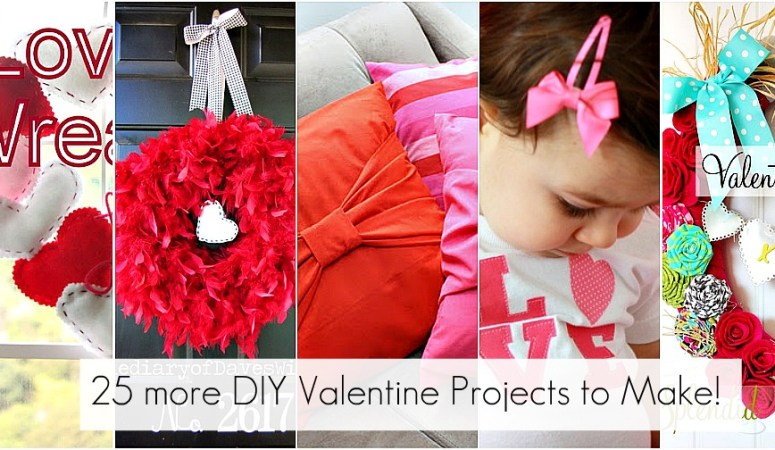 Great Ideas — 100+ Valentine's Day Projects to Make!!
