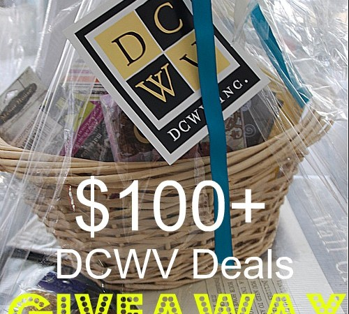 Weekend Wrap Up Party — And $100+ DCWV Deals Giveaway!!