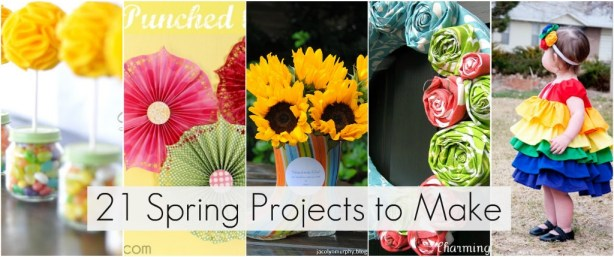 21 Spring Projects To Make This Weekend