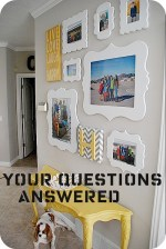 Family Picture Wall — Your Questions Answered!!