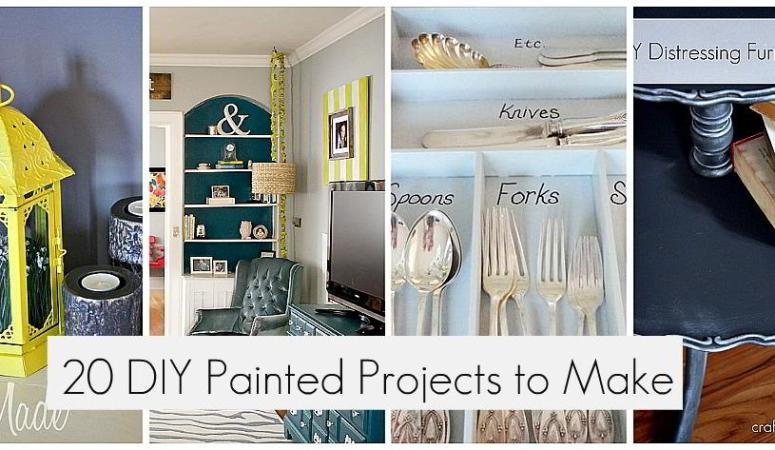 Great Ideas — 20 Painted Projects to Make!!
