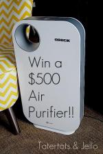 Win a $500 Oreck Air Purifier!!!