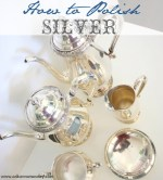 How to Polish Silver (homemaking tutorial)!!
