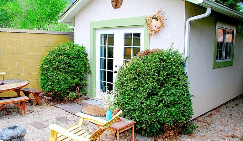 Turn a Little-Used Storage Shed into an Creative Multi-Use Space!
