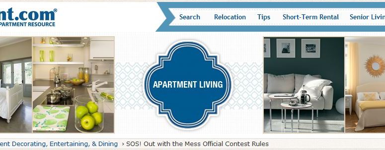 Messy Home or Apartment? Win $3,000 from ForRent.com!!