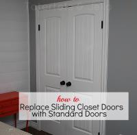 Make the most of your closet -- Replace Sliding Closet ...