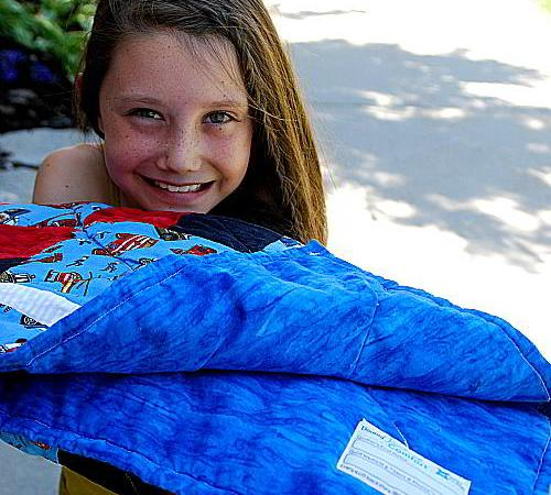 Making a Quilt With Kids — Downy Touch of Comfort Program!