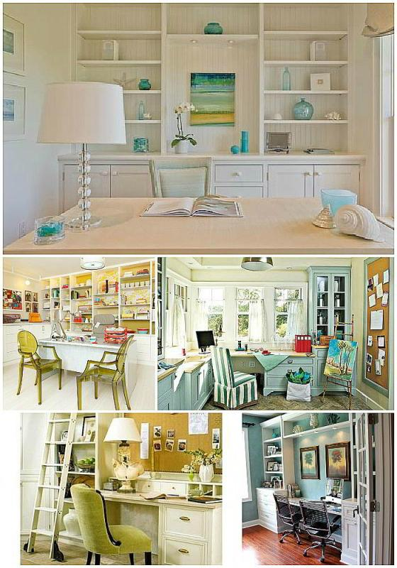 Diy blogger house at daybreak for Office space inspiration