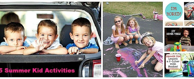 Great Ideas — 25 Things to Do With The Kids This Summer!!