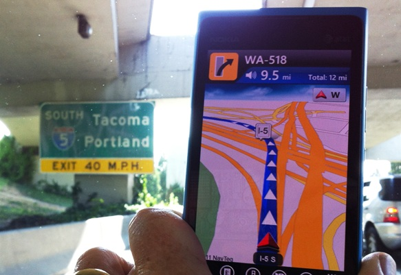 Using My Phone To Find My Way …And What's Your Best Getting Lost Story?