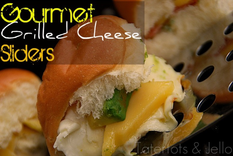 gourmet grilled cheese sliders