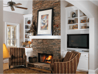 Fireplace Inspiration: 10 Fireplaces that Showcase Natural ...