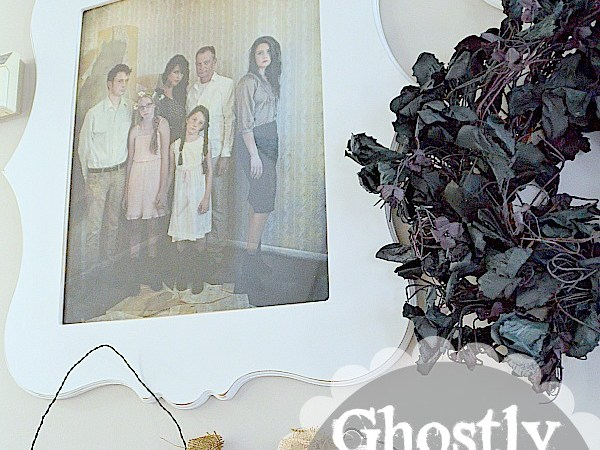 Family Picture Wall: Ghostly Edition!