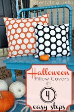 Make a Pillow Cover in 4 Easy Steps!