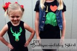 HAPPY Holidays — Make DIY Boutique Holiday Shirts with Free Templates!