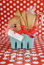 HAPPY Holidays — Make a Ginger Bread House Kit (Neighbor Gift Idea)