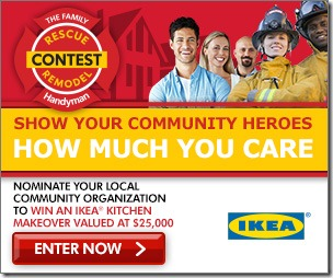 Help Your Local Heroes with IKEA's Rescue Remodel Contest