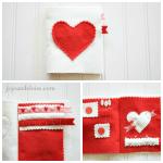DIY Needle Book (Valentine's Day Gift Idea)