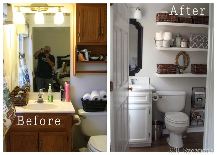 Amazing Master Bathroom Makeover: 45 Amazing DIY Projects