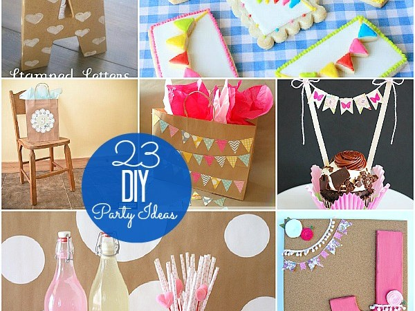 Great Ideas — 23 DIY Party Ideas!!