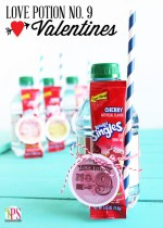 Love Potion No.9 Valentine Idea and Free Printables!