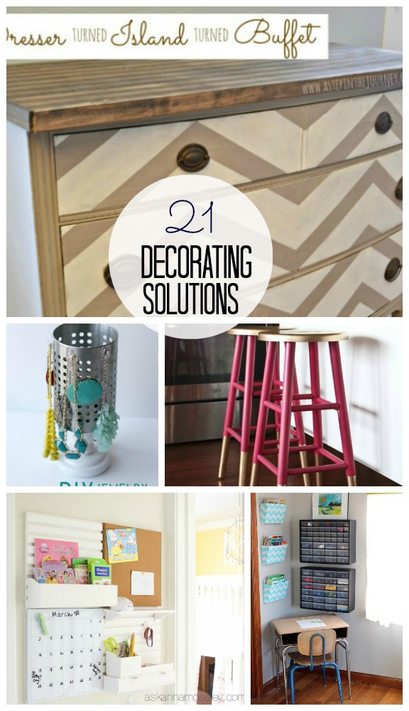 Great Ideas - 21 Decorating Solutions!! - Tatertots and Jello
