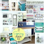 Great Ideas — 22 Spring Organizing Projects!!