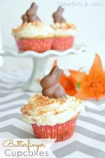 Recipe: Make Easy Butterfinger Cupcakes!