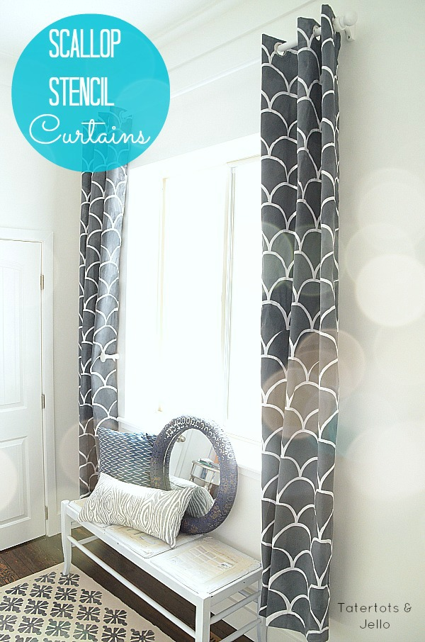 How To Stencil On Fabric And A Royal Design Studio Giveaway