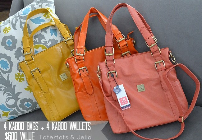 Weekend Wrap Up Party — and $600 Kaboo Bags Giveaway!