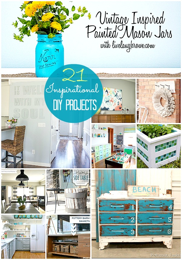 great ideas 21 diy projects to inspire part 1