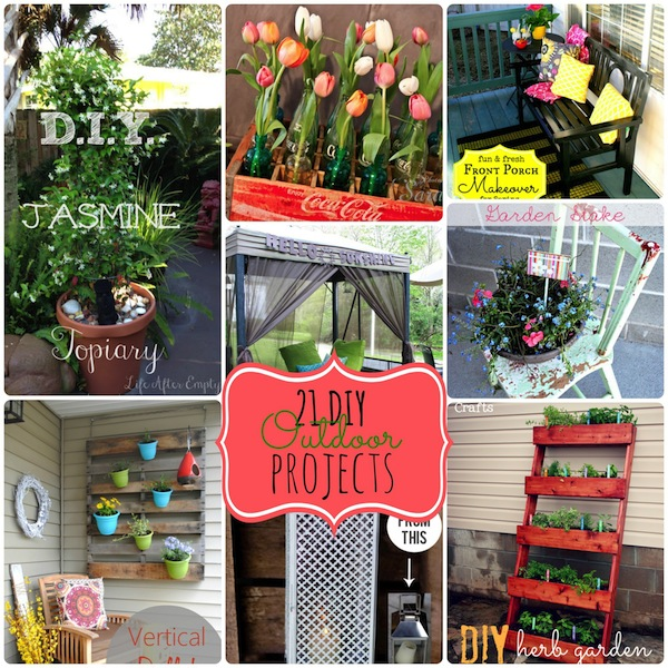 21 outdoor diy projects
