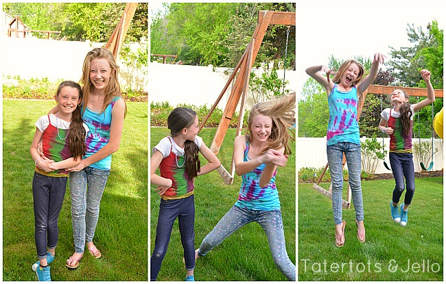 Make Tie-Dye Summer Shirts