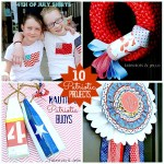 10 Red, White and Blue Ideas!