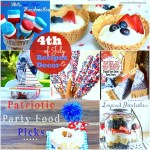 20 Fourth of July Recipes + Table Decor Ideas!