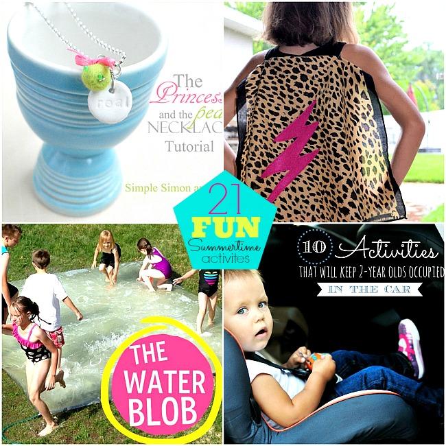 21 summer activites with kids