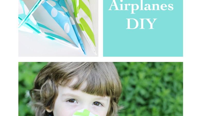 Party Bag Paper Airplanes DIY!