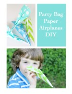 Party Bag Paper Airplanes DIY!