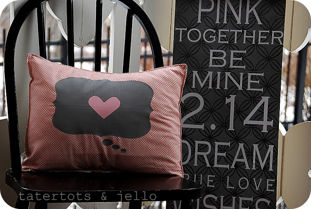 heat transfer heart pillows